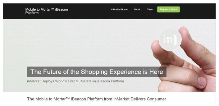 การตลาดออนไลน์ - mobile mortar ibeacon platform
