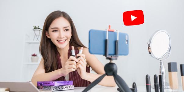 YouTube - จ้างดารารีวิวสินค้าตามช่องต่างๆ